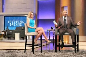 Anna with Steve Harvey