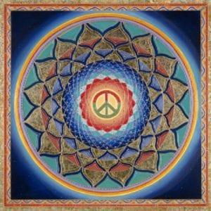 Peace Mandala by Paul Heussenstamm medium