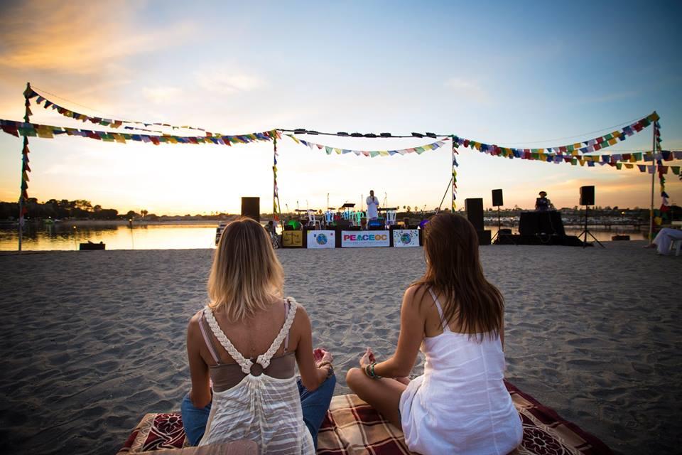 Sunset Meditation with Sri Madhuji 3